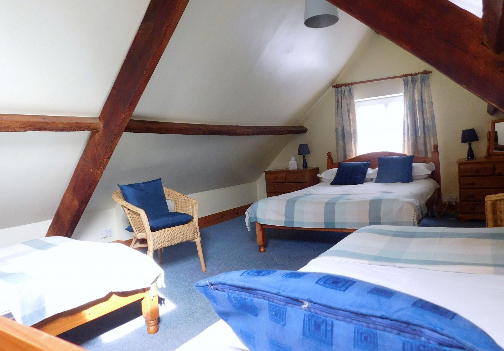 Upstairs Bedroom 2 Olive Mead Farm Holidays